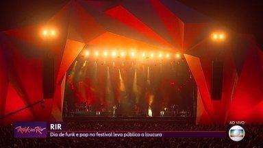 Dia de funk e pop no Rock in Rio leva público à loucura - Anitta se apresentou neste sábado (5), no Palco Mundo.