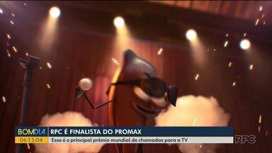 RPC é finalista do maior prêmio da América Latina de chamadas para Tv - Resultado sai em novembro e emissora concorre a 6 estatuetas.