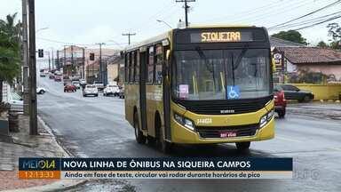 Circular Siqueira Campos começa funcionar em Ponta Grossa - Linha está em fase de testes e não vai para no terminal Uvaranas.