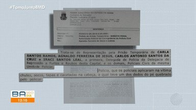 Delegada e três investigadores acusados de tortura são liberados nesta terça-feira - A titular da delegacia de Repressão a Furtos e Roubos, Carla Ramos, e os três agentes foram detidos a pedido da corregedoria da Polícia Civil.