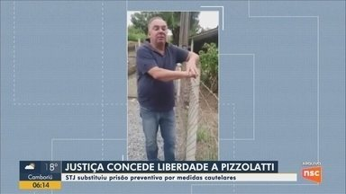 STJ manda soltar ex-deputado João Pizzolatti, acusado de tentativa de homicídio - STJ manda soltar ex-deputado João Pizzolatti, acusado de tentativa de homicídio