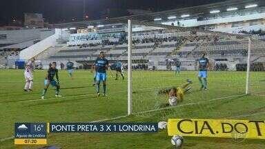 Roger marca dois gols e comanda vitória da Macaca contra o Londrina - Partida foi 3x1, confira os gols.