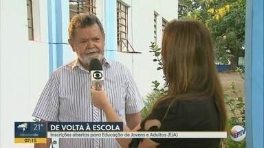 Matrículas para Educação de Jovens e Adultos estão abertas em Ribeirão Preto - Supervisor de Ensino explica como se matricular.
