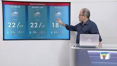 Confira previsão do tempo para esta quarta-feira - Dia amanheceu com chuva em várias cidades.