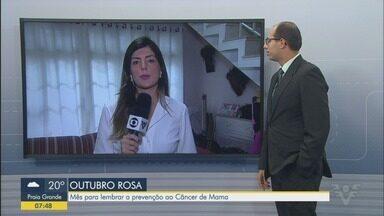 Instituto Neo Mama realiza campanha 'Outubro Rosa' - Instituto é referência no atendimento a mulheres que estão com a doença.