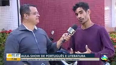 Aula preparatória para o Enem acontece gratuitamente em Aracaju - Evento é realizado no Teatro Atheneu.