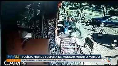 Polícia prende suspeitos de matar empresário em Fazenda Rio Grande - A mulher dele é uma das pessoas presas.