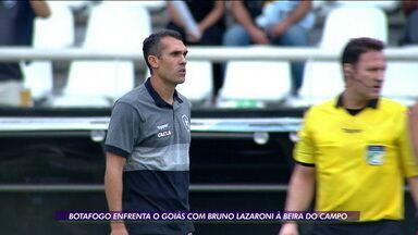 Botafogo enfrenta o Goiás com Bruno Lazaroni como técnico interino - Botafogo enfrenta o Goiás com Bruno Lazaroni como técnico interino