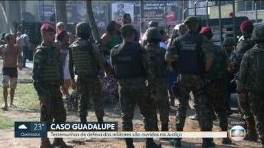 Começa julgamento de militares acusados de matar duas pessoas durante ação em Guadalupe - A ação foi em Guadalupe e os militares são acusados de matar duas pessoas.com mais de 70 tiros.