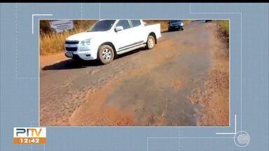 Telespectador mostra situação de rodovia no Norte do Piauí - Telespectador mostra situação de rodovia no Norte do Piauí