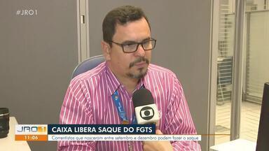 Caixa libera mais um saque do FGTS - Liberação são para os nascidos entre setembro e dezembro.