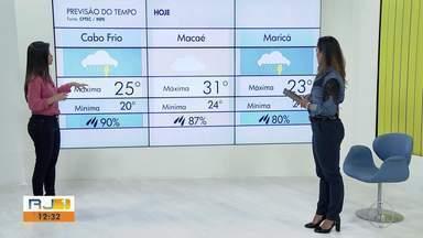 Confira a previsão do tempo para as cidades do interior do Rio - Veja como fica a temperatura nesta quarta-feira (9).