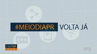 Telespectadores chamam o intervalo do Meio Dia Paraná - Participe você também. Envie seu vídeo através do (43) 99972-5178.