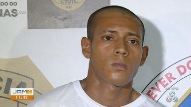 Homem é preso suspeito de participação em duplo homicídio em Manaus - Segundo a polícia, ele teria participado da morte de um casal.