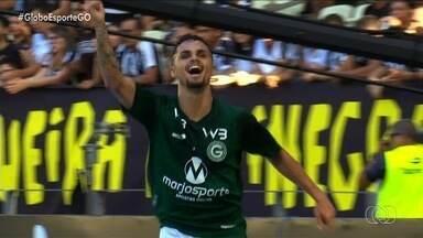 Em boa fase, Goiás ajusta últimos detalhes para encarar Botafogo fora de casa - Time quer continuar com sequência boa e conseguir a quinta vitória consecutiva