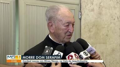 Morre cardeal Dom Serafim - Cardeal nasceu em Minas Novas.