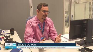 Saque do FGTS - Nascidos de setembro a dezembro recebem a partir desta quarta-feira (9).