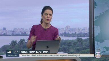 RJ1 - Íntegra 10/10/2019 - O telejornal, apresentado por Mariana Gross, exibe as principais notícias do Rio, com prestação de serviço e previsão do tempo.