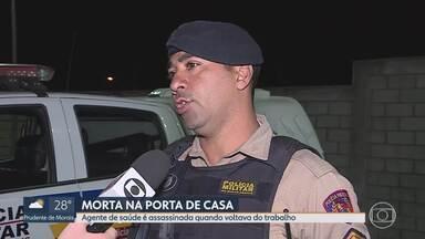 Agente de saúde é assassinada quando voltava do trabalho - Crime aconteceu em Betim