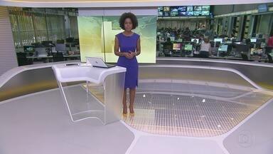 Jornal Hoje - íntegra 11/10/2019 - Os destaques do dia no Brasil e no mundo, com apresentação de Maria Júlia Coutinho.