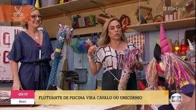Lu Gastal ensina a fazer cavalinhos e unicórnios coloridos - Artesã mostra como é fácil e barato criar brinquedos lindos de espuma para a criançada
