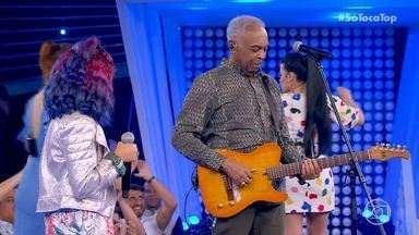 Programa de 12/10/2019 - Gilberto Gil canta com a neta Flor Gil no especial de Dia das Crianças, que ainda conta com a participação de Galinha Pintadinha, Mundo Bita e Palavra Cantada.