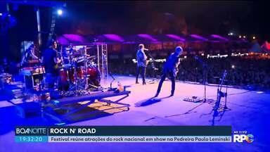 Rock 'n' Road reúne bandas de rock nacional na Pedreira Paulo Leminski - Parte da renda do evento será revertida para a construção do Erastinho.