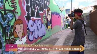 Gabriel foi alvo de fake news ao fotografar região próxima ao trabalho - Postagens na internet apontavam o jovem como bandido em Jundiaí