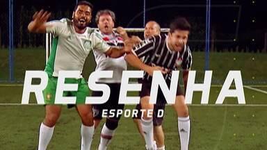 Resenha 2019: São Paulo vence o Majestoso, e Rafael Love paga aposta - Tricolor venceu o Corinthians por 1 a 0, e o Rafael Love teve que mostrar o seu gingado usando o bambolê.