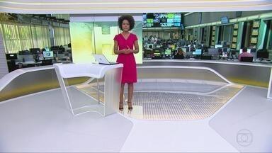 Jornal Hoje - íntegra 14/10/2019 - Os destaques do dia no Brasil e no mundo, com apresentação de Maria Júlia Coutinho.
