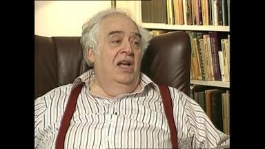 Reveja a entrevista com Harold Bloom