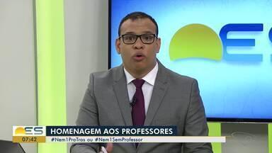 Fundação Roberto Marinho faz ação do Dia do Professor no ES - Homenagem para os profissionais.