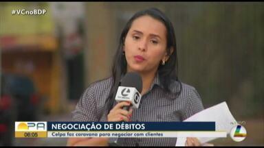 Caravana de Negociação da Celpa ocorre em shopping em Belém - Projeto oferece condições flexíveis para clientes negociarem débitos com a conta de energia. Atendimento vai até sábado (19), de 9h às 17h, no 2º piso.