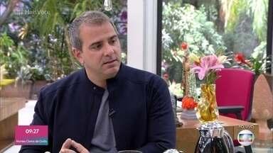 Rodrigo Alvarez lança primeiro livro de ficção sobre a imortalidade - Jornalista já tinha escrito oito livros, todos com temáticas religiosas ou sobre histórias reais. Agora, ele conta por que decidiu se aventurar nesta ideia da imortalidade