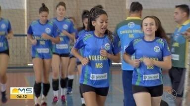 Equipe sub-18 de vôlei de MS sobe para a primeira divisão do brasileiro - Agora é treinar mais para se manter entre os melhores.