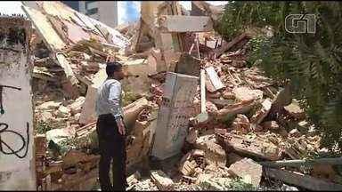 Prédio desaba em Fortaleza e deixa mortos e feridos