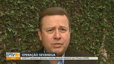 Deputado estadual Léo Oliveira é denunciado por esquema de corrupção em Ribeirão Preto - Segundo Ministério Público, parlamentar teria integrado grupo que recebia propina e indicava apadrinhados em terceirizada. Emedebista nega as acusações.