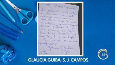 Tem participação no Link Vanguarda - Especial dia dos professores.