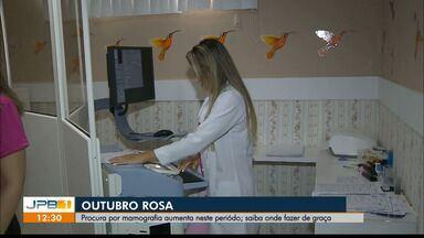 """Procura por mamografia aumenta durante o Outubro Rosa na Paraíba - Saiba onde fazer o exame de graça e conheça o projeto """"Mulheres de Peito"""" , que vende bonecas para conseguir pagar consultas e exames."""