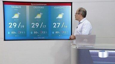 Confira previsão do tempo para esta quarta-feira - Nebulosidade aumenta na região.