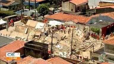 Assista à edição especial do CETV sobre desabamento de prédio em Fortaleza - Bloco 2 - Saiba mais no g1.com.br/ce