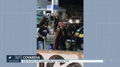 Torcedores do Flamengo agridem torcedores do Vasco em Duque de Caxias - A polícia investiga se a agressão foi uma revanche de uma briga entre torcedores que aconteceu há dias atrás.