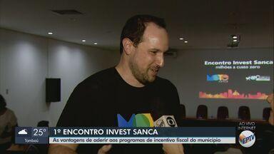 Evento aborda incentivos fiscais para os empresários em São Carlos - Encontro orienta sobre as vantagens de aderir aos programas do município.