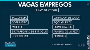 Supermercado de União da Vitória está com 80 vagas abertas - Interessados nas vagas devem procurar a Agência do Trabalhador da cidade nesta sexta (18).