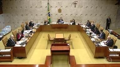 STF começa a julgar prisão após condenação em 2ª instância - Julgamento será retomado na quarta-feira com voto do relator.