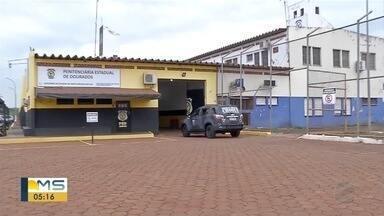 Polícia e Agepen fazem operação em presídio de Dourados - Operação foi feita após suspeita de plano de fuga.