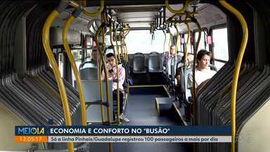 Economia e conforto no transporte público - Passageiros mudam rotina para pagar tarifa mais barata nos horários fora de pico.