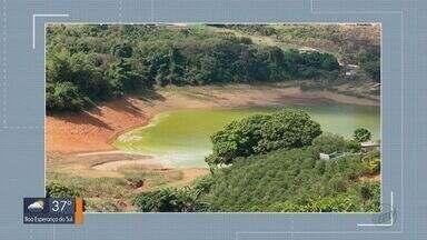 Represa de Caconde é interditada para banho - A medida preventiva foi necessária após o aparecimento de algas verdes no local.
