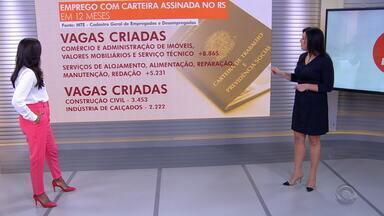 Giane Guerra fala dos setores que mais geram vagas de emprego com carteira assinada - Assista ao vídeo.