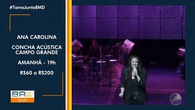 Agenda Cultural: confira as opções de lazer para este fim de semana em Salvador - Entre os destaques, tem shows de Zé Ramalho, Ana Carolina, e muito mais.